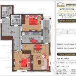 Apartamente de vanzare Splaiul Unirii Residence 2 -3 camere tip A1