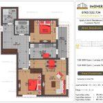 Apartamente de vanzare Splaiul Unirii Residence 2 -3 camere tip A2