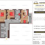 Apartamente de vanzare Splaiul Unirii Residence 2 -3 camere tip B1