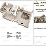 Apartamente de vanzare Titan Residence - 2 camere tip F