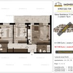 Apartamente de vanzare Siena Residence 3-Corp 3-3 camere tip A