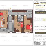 Apartamente de vanzare Splaiul Unirii Residence 2 -3 camere tip C2