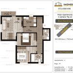 Apartamente de vanzare Vitan Apartments -3 camere tip A2-v