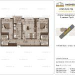 Apartamente de vanzare Dristor Residential 3 -3 camere tip B-v