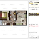 Apartamente de vanzare Pallady - Burnitei Apartments -2 camere tip B