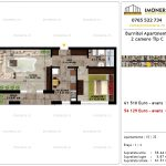 Apartamente de vanzare Pallady - Burnitei Apartments -2 camere tip C
