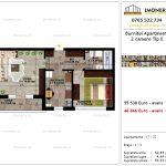 Apartamente de vanzare Pallady - Burnitei Apartments -2 camere tip E