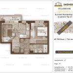 Apartamente de vanzare Burnitei Residential 4 -2 camere tip A7-v