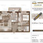 Apartamente de vanzare Burnitei Residential 4 -2 camere tip C1-v