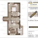 Apartamente de vanzare Burnitei Residential 4 -2 camere tip C2-v