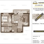 Apartamente de vanzare Burnitei Residential 4 -2 camere tip C8