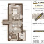 Apartamente de vanzare Burnitei Residential 4 -2 camere tip C9-v
