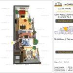 Apartamente de vanzare Camil Ressu Apartments - 2 camere tip A