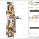 Apartamente de vanzare Camil Ressu Apartments - 3 camere tip A