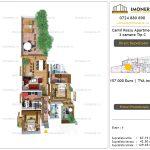 Apartamente de vanzare Camil Ressu Apartments - 3 camere tip C