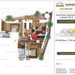 Apartamente de vanzare Camil Ressu Apartments - 3 camere tip D