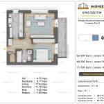 Apartamente de vanzare Pallady Boulevard Apartments -2 camere tip A1