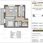 Apartamente de vanzare Pallady Boulevard Apartments -2 camere tip A2