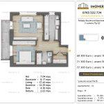 Apartamente de vanzare Pallady Boulevard Apartments -2 camere tip A2'