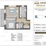 Apartamente de vanzare Pallady Boulevard Apartments -2 camere tip A3'