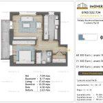 Apartamente de vanzare Pallady Boulevard Apartments -2 camere tip A3