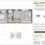 Apartamente de vanzare Pallady Boulevard Apartments -2 camere tip B2'