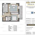 Apartamente de vanzare Pallady Boulevard Apartments -2 camere tip C3'