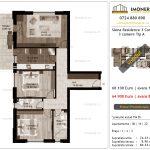 Apartamente de vanzare Siena Residence 3-Corp 2-3 camere tip A_v