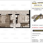 Apartamente de vanzare Siena Residence 3-Corp 3-2 camere tip G_v