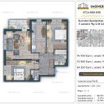 Apartamente de vanzare Burnitei Residential 4 -2 camere tip A18-24