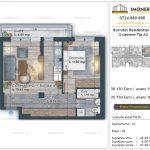 Apartamente de vanzare Burnitei Residential 4 -2 camere tip A2