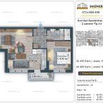 Apartamente de vanzare Burnitei Residential 4 -2 camere tip A4