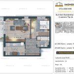 Apartamente de vanzare Burnitei Residential 4 -2 camere tip A6