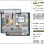 Apartamente de vanzare Burnitei Residential 4 -2 camere tip A8