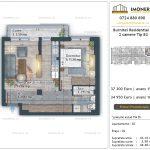 Apartamente de vanzare Burnitei Residential 4 -2 camere tip B2