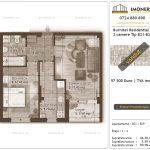 Apartamente de vanzare Burnitei Residential 4 -2 camere tip B21-B29