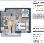 Apartamente de vanzare Burnitei Residential 4 -2 camere tip B3