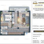 Apartamente de vanzare Burnitei Residential 4 -2 camere tip B7