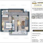 Apartamente de vanzare Burnitei Residential 4 -2 camere tip C12