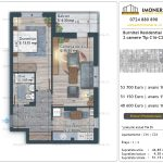 Apartamente de vanzare Burnitei Residential 4 -2 camere tip C14