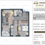 Apartamente de vanzare Burnitei Residential 4 -2 camere tip C20-C28