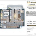 Apartamente de vanzare Burnitei Residential 4 -2 camere tip C6