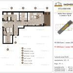 Apartamente de vanzare Delta View Homes-2 camere tip B-v