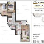 Apartamente de vanzare Dristor Residential 2 -3 camere tip G