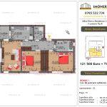 Apartamente de vanzare Mihai Bravu Residence 12 - 3 camere tip B