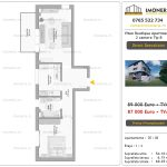 Apartamente de vanzare Mihai Bravu - Vitan Boutique Apartments - 2 camere tip B