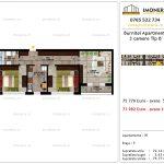 Apartamente de vanzare Pallady - Burnitei Apartments -3 camere tip B'