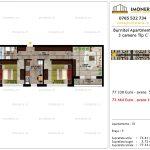 Apartamente de vanzare Pallady - Burnitei Apartments -3 camere tip C'