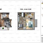 Apartamente de vanzare Dristor Residential 2 -Duplex tip B