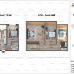 Apartamente de vanzare Dristor Residential 2 -Duplex tip K